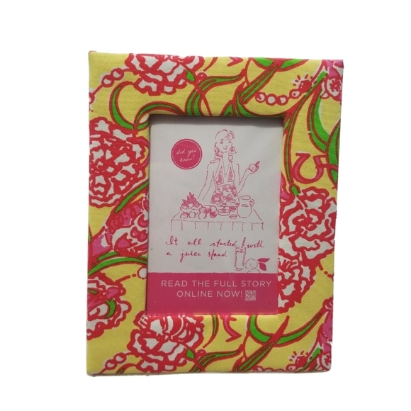 Lilly Pulitzer Chi Omega Picture Frame Sorority